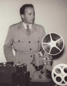 Bertil projektor very early
